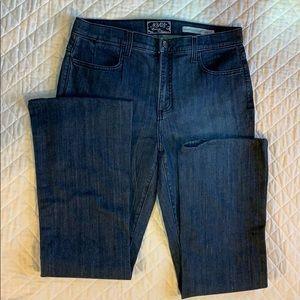 NYDJ Jeans - NYDJ slight bootcut Jeans darkwash